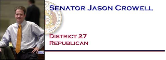 Senator Jason Crowell