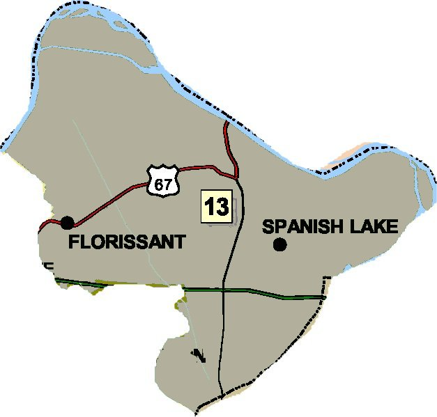 District 13 Map