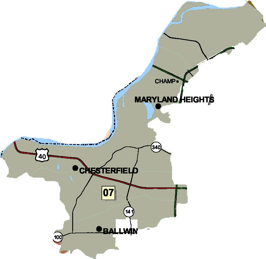 District 07 Map