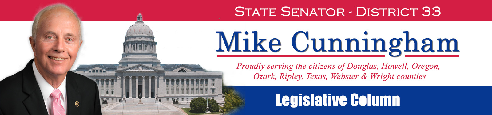 Sen. Mike Cunningham's Legislative Column for Dec. 28, 2020 – Missouri Senate